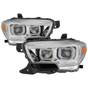 Spyder Auto - XTune DRL Light Bar Projector Headlights 9039263