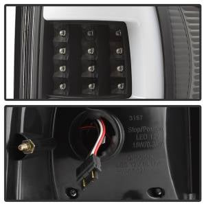 Spyder Auto - XTune Version 3 Light Bar LED Tail Lights 9040337 - Image 2