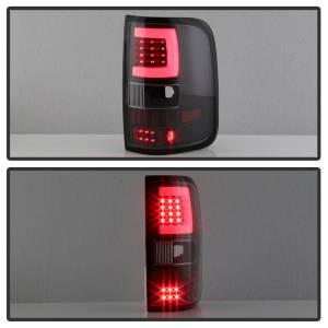 Spyder Auto - XTune Version 3 Light Bar LED Tail Lights 9040337 - Image 4