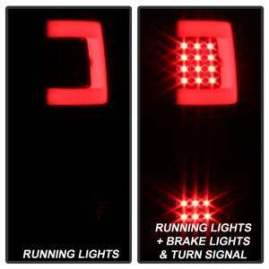 Spyder Auto - XTune Version 3 Light Bar LED Tail Lights 9040337 - Image 5