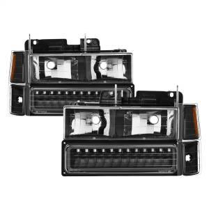 Exterior Lighting - Cornering Light Assembly - Spyder Auto - XTune Bumper Head Lights/Corner Lights 5069542