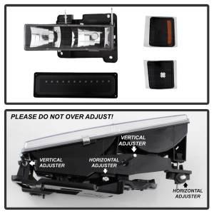 Spyder Auto - XTune Bumper Head Lights/Corner Lights 5069542 - Image 2