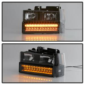 Spyder Auto - XTune Bumper Head Lights/Corner Lights 5069542 - Image 3