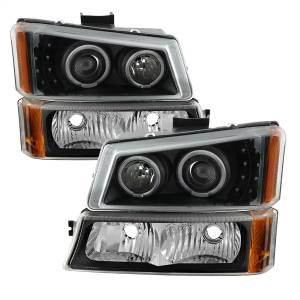 Spyder Auto - XTune Projector Headlights/Bumper Lights 9036774