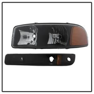 Spyder Auto - XTune Crystal Headlights/Bumper Lights 9037474 - Image 2