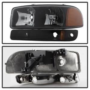 Spyder Auto - XTune Crystal Headlights/Bumper Lights 9037474 - Image 4