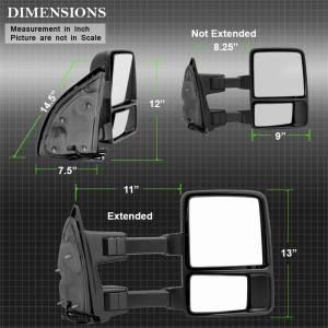 Spyder Auto - XTune Door Mirror 9933134 - Image 2