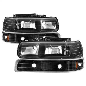 Exterior Lighting - Cornering Light Assembly - Spyder Auto - XTune Crystal Headlights/Bumper Lights 5064219