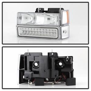 Spyder Auto - XTune Bumper Head Lights/Corner Lights 5069559 - Image 2