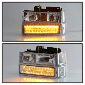 Spyder Auto - XTune Bumper Head Lights/Corner Lights 5069559 - Image 9