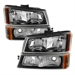 Spyder Auto - XTune Crystal Headlights/Bumper Lights 5069801