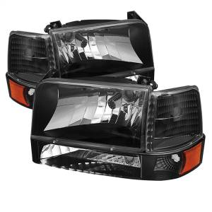 Exterior Lighting - Cornering Light Assembly - Spyder Auto - XTune Bumper Head Lights/Corner Lights 5073136