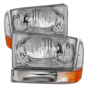 Spyder Auto - XTune Crystal Headlights/Bumper Lights 9025419