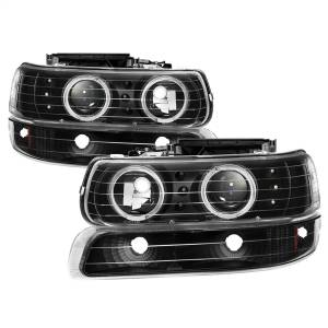 Spyder Auto - XTune Halo Projector Headlights 9036781