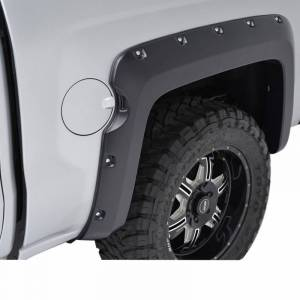 Black Horse Off Road - N | Fender Flares | Black Paintable |  Bolt-head Style - Smooth  | Crew Cab | FF-CHSIL19-SM - Image 3