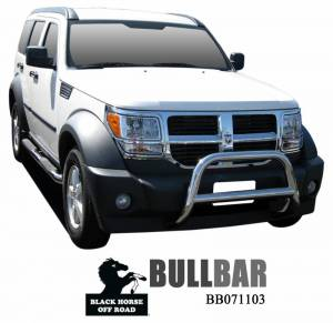 Black Horse Off Road - A | A Bar | Stainless Steel | BB071103SS - Image 1