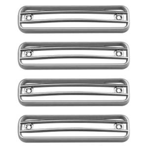 Body Styling - Door Trim - KASEI - Kasei Chrome ABS Side Lamp Trims H2-SLR
