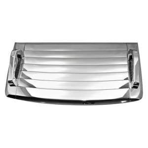 Exterior Accessories - Hoods and Scoops - KASEI - Kasei Chrome ABS Hood Vent Deck Kit H3-HVD
