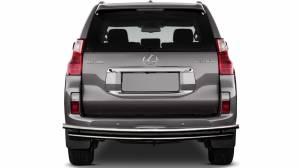 Exterior Accessories - KASEI - Kasei Chrome Double Layer Stainless Steel Rear Bumper Guar