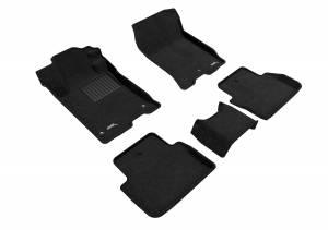 Interior Accessories - Floor Mat - 3D MAXpider - 3D MAXpider ACURA TLX FWD 2015-2020 ELEGANT BLACK R1 R2