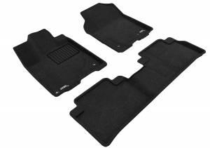 Interior Accessories - Floor Mat - 3D MAXpider - 3D MAXpider ACURA RDX 2013-2018 ELEGANT BLACK R1 R2