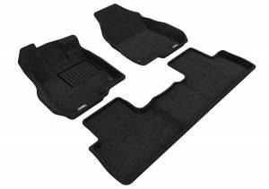 Interior Accessories - Floor Mat - 3D MAXpider - 3D MAXpider ACURA RDX 2019-2020 ELEGANT BLACK R1 R2
