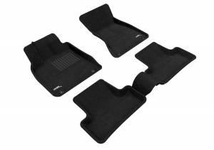 Interior Accessories - Floor Mat - 3D MAXpider - 3D MAXpider AUDI Q5 2009-2017/ SQ5 2013-2017 ELEGANT BLACK R1 R2