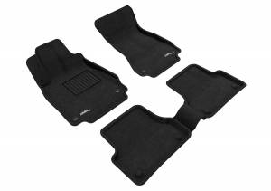 Interior Accessories - Floor Mat - 3D MAXpider - 3D MAXpider AUDI A6 2012-2018/ S6 2013-2018 ELEGANT BLACK R1 R2