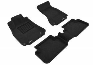 Interior Accessories - Floor Mat - 3D MAXpider - 3D MAXpider AUDI A4/ S4/ RS4 2009-2016 ELEGANT BLACK R1 R2