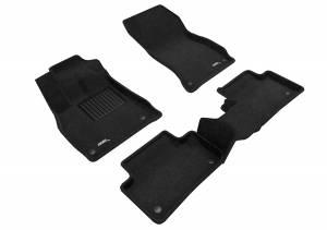 Interior Accessories - Floor Mat - 3D MAXpider - 3D MAXpider AUDI Q5 2018-2020 ELEGANT BLACK R1 R2