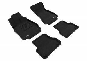 Interior Accessories - Floor Mat - 3D MAXpider - 3D MAXpider AUDI A7 2012-2018/ S7 2013-2018/ RS7 2014-2018 ELEGANT BLACK R1 R2