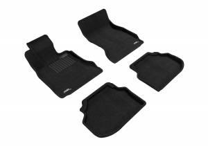 3D MAXpider - 3D MAXpider BMW 5 SERIES SEDAN SDRIVE 2011-2014 ELEGANT BLACK R1 R2