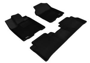 Interior Accessories - Floor Mat - 3D MAXpider - 3D MAXpider ACURA RDX 2013-2018 KAGU BLACK R1 R2