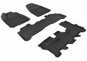 Interior Accessories - Floor Mat - 3D MAXpider - 3D MAXpider ACURA MDX 2007-2013 KAGU GRAY R1 R2 R3