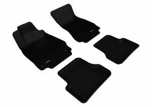 Interior Accessories - Floor Mat - 3D MAXpider - 3D MAXpider AUDI A6 2012-2018/ S6 2013-2018 KAGU BLACK R1 R2