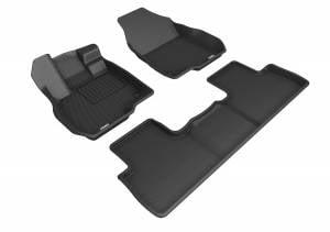 Interior Accessories - Floor Mat - 3D MAXpider - 3D MAXpider ACURA RDX 2019-2020 KAGU BLACK R1 R2