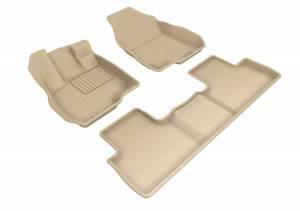 Interior Accessories - Floor Mat - 3D MAXpider - 3D MAXpider ACURA RDX 2019-2020 KAGU TAN R1 R2