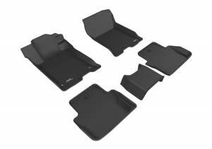 3D MAXpider - 3D MAXpider ACURA TLX FWD 2015-2020 KAGU BLACK R1 R2