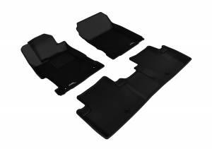 Interior Accessories - Floor Mat - 3D MAXpider - 3D MAXpider ACURA ILX 2013-2020 KAGU BLACK R1 R2