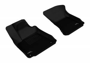 Interior Accessories - Floor Mat - 3D MAXpider - 3D MAXpider AUDI A8 2011-2017/ A8L 2011-2018 KAGU BLACK R1
