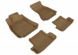 Interior Accessories - Floor Mat - 3D MAXpider - 3D MAXpider AUDI A5 / S5 2009-2017 KAGU TAN R1 R2