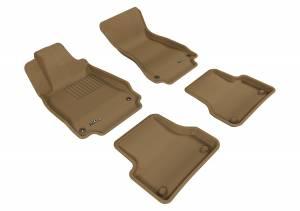 Interior Accessories - Floor Mat - 3D MAXpider - 3D MAXpider AUDI A6 2012-2018/ S6 2013-2018 KAGU TAN R1 R2