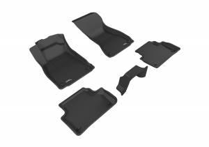 Interior Accessories - Floor Mat - 3D MAXpider - 3D MAXpider AUDI A4/ S4 2017-2020/ A5 SPORTBACK/ S5 SPORTBACK 2018-2019 KAGU BLACK R1 R2