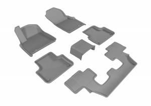 3D MAXpider - 3D MAXpider AUDI Q7 2017-2020 KAGU GRAY R1 R2 R3