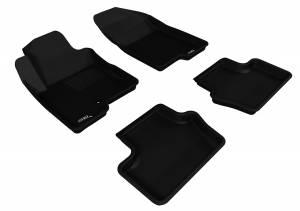 3D MAXpider - 3D MAXpider JEEP COMPASS 2007-2013 KAGU BLACK R1 R2