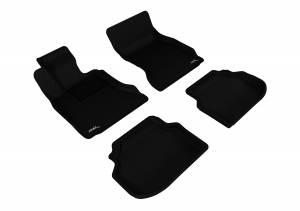 3D MAXpider - 3D MAXpider BMW 5 SERIES SEDAN SDRIVE 2011-2014 KAGU BLACK R1 R2