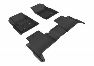 3D MAXpider - 3D MAXpider CHEVROLET COLORADO CREW CAB 2015-2020 KAGU GRAY R1 R2