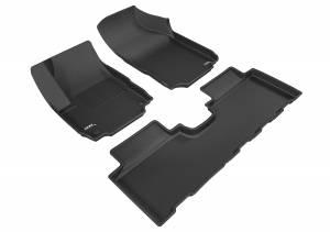 3D MAXpider - 3D MAXpider CHEVROLET EQUINOX 2018-2020 KAGU BLACK R1 R2