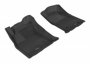 3D MAXpider - 3D MAXpider TOYOTA TACOMA REGULAR CAB/ ACCESS CAB/ DOUBLE CAB 2005-2011 KAGU GRAY R1