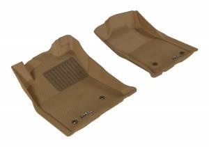3D MAXpider - 3D MAXpider TOYOTA TACOMA REGULAR CAB/ ACCESS CAB/ DOUBLE CAB 2005-2011 KAGU TAN R1
